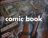 BVANOMATOR5000+          COMIC BOOK