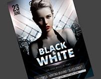 Black & White Flyer