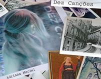 """CD Cover - """"Dez Canções"""" - Adriana Maciel - EMI"""