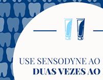 Conteúdo Digital - Sensodyne