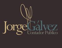 Jorge Gálvez Identidad Corporativa