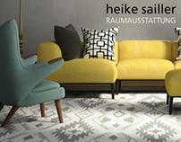Webdesign für Raumausstatter ( space outfitter )