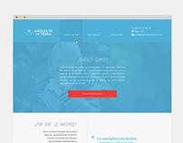 Angeles de mi tierra - Diseño y desarrollo web