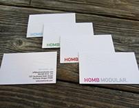 HOMB Modular | Integrated Brand