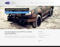 Site para GMP Car / VP Car - Acessórios Automotivos