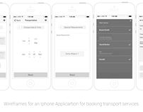 Iphone App for Transport Services