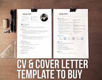 CV & Resume & Cover Letter Template (PSD/AI)