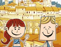 Romanos en Segovia