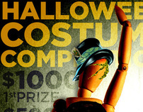 Halloween Costume Competition posters