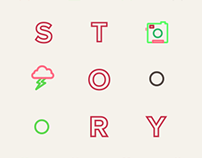 Storylane — identity for a videoproduction campany
