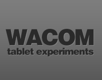 wacom tablet experiments