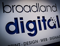New Brand Identity for Broadland Digital
