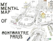 My Mental Map of Montmartre, Paris