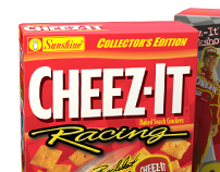 3D Cheez-It