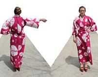 Shibori Lounge Kimono