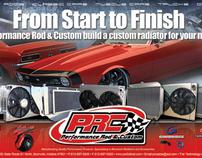 Performance Rod & Custom, NEW half page ads