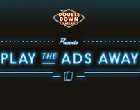 "DoubleDown Casino Hulu ""Play the Ads Away"""