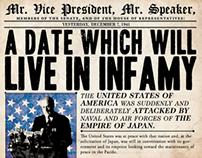 FDR Pearl Harbor Address