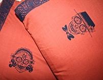 Día de los Muertos His & Hers Pillowcases