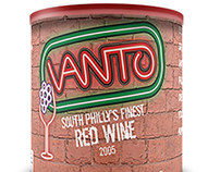 Vanto Wine in a Can Concept