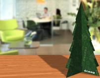 Cartão de Natal CASU (2010)