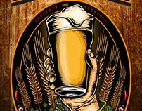Ilustración Letrero Cervecería TRUF