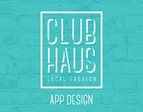 Clubhaus | App Design
