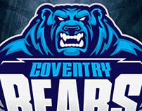 Coventry Bear Rugby Branding