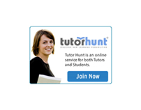 Tutor Hunt Ad Banner
