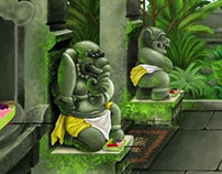 Balinese Mystical Gate