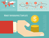 Business Flat Infographics Templates