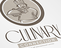 Culinary Connection Cuisine Logo Template