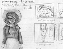 Sketchbook(Illustration Concepts)