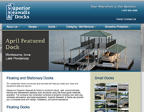 Superior Seawalls website