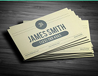 Retrocom - Retro Style Business Card Template