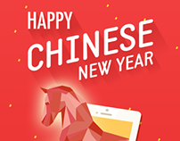 Chinese New Year greetings letter