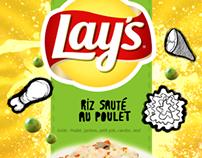 School work : Paquet de chips personnalisé