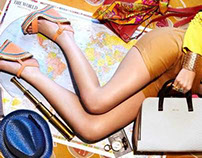 Bon Voyage- Travel accessories editorial for Verve