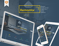Remontor® – repair company website