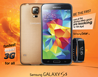 Banglalink_Samsung S5_Press Ad
