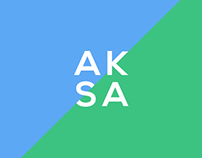 AKSA Energy brand identity development