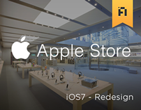 Apple Store - iOS7 Redesign