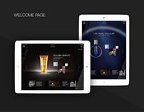 iPad App for Helena Rubinstein - AO