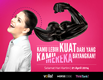 Kartini Day Ads