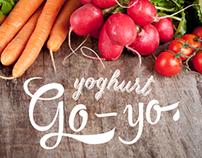 Go-yo Yoghurt Branding and Packaging