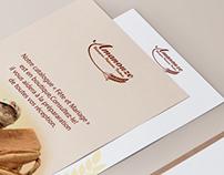 Branding Amanouze Pâtisserie - Boulangerie