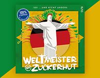 Weltmeister am Zuckerhut - Cover Artwork