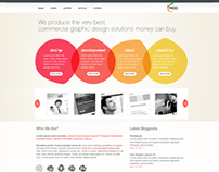 New Website Landing Page
