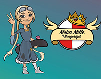 Motor Mille - an animated exam project