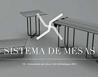 Product Design | sistema de mesas